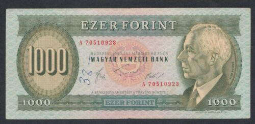 A6009 Hungary Ungaria 1000 forint 1983