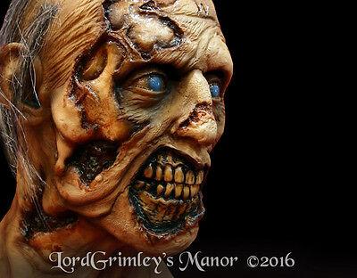 Officially Licensed The Walking Dead The W Walker Zombie Halloween Mask - Halloween The Walking Dead
