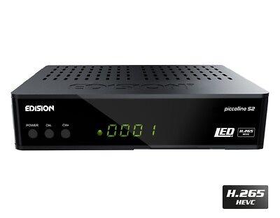 Edision Piccollino S2 Full HD Receiver für DVB-S2 H.265/HEVC HDMI