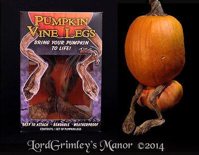 Pumpkin Vine Legs Bendable Weatherproof Ray Villafane Halloween Prop Decoration
