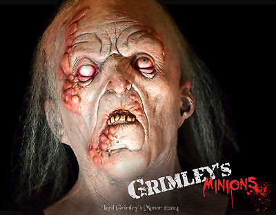 Lord Grimley Exclusive Uncut Gravedigger Hillbilly Halloween Mask Grandpa Horror](Hillbilly Halloween Mask)