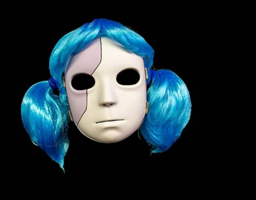 Officially Licensed Sally Halloween Face Mask With Wig Horror Cosplay Anime
