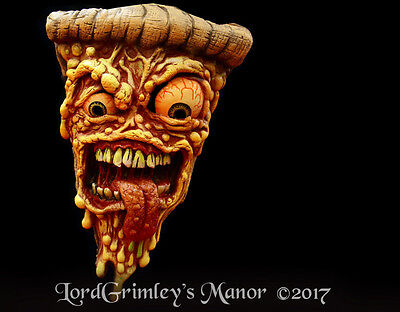 Officially Licensed Jimbo Phillips Pizza Face Halloween Mask Food (Phillip Halloween)