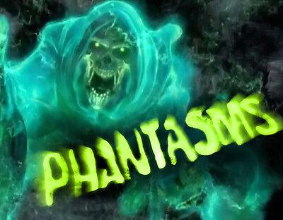 Phantasms DVD Halloween Prop Special FX Horror Projector Ghouls Specters Ghosts