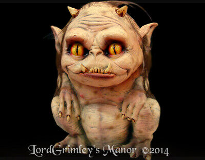 Lil Hairy Troll Prop Horror Halloween Prop Monster Halloween Decorations Horror](Horror Halloween Decorations)