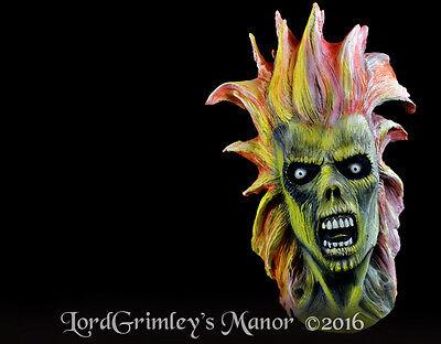 Officially Licensed Iron Maiden Eddie English Heavy Metal Halloween Mask (Iron Maiden Eddie Halloween)