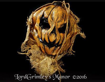 Original Corn Harvester Burlap Scarecrow Halloween Mask Horror Monster Maze
