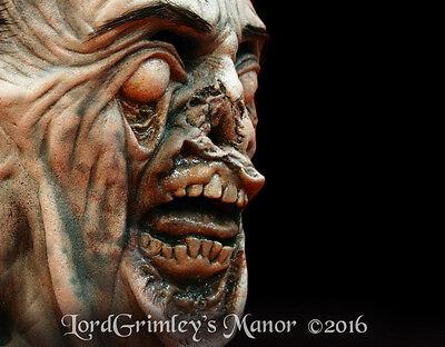 Officially Licensed The Walking Dead Mush Face Walker Zombie Halloween Mask - Halloween The Walking Dead