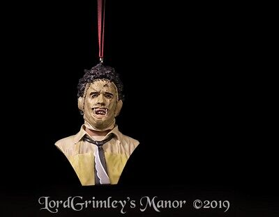 Officially Licensed Texas Chainsaw Massacre Horror Ornaments Halloween Decor](Halloween Chainsaw)