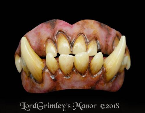 Custom Fit Ogre Bitemares Special FX Horror Teeth Set Halloween Cosplay LARP