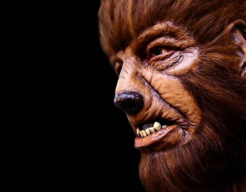 NEW Licensed Universal Monsters The Wolfman Halloween Mask Horror Werewolf Lycan