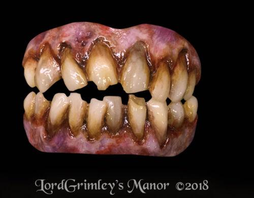 Custom Fit Zombie Bitemares Special FX Horror Teeth Set Halloween Cosplay LARP