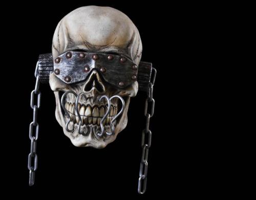 Vic Rattlehead  Megadeath Halloween Mask Horror Metal Band Skeleton Scary Creepy