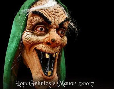 NEW 2017 Licensed Tales From the Crypt Vault Keeper Halloween Mask Horror Witch
