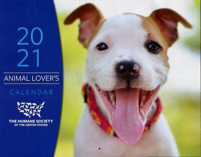 Animal Lover's Calendar - 2021 Wall Calendar - Humane Society of the U.S.