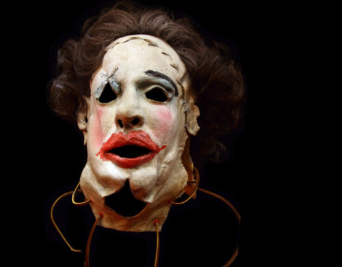 Licensed Texas Chainsaw Massacre Pretty Woman Leatherface Halloween Mask Horror