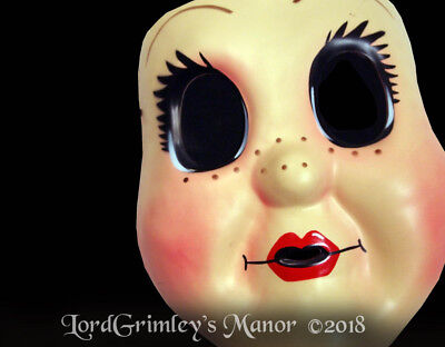 The Halloween Play (NEW 2018 Licensed The Strangers Play at Night Doll Face Halloween Mask Horror)