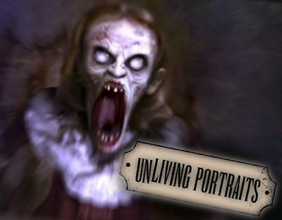 Halloween Fx Dvd (SEE VIDEO UNLIVING PORTRAITS DVD Halloween ATMOSFEAR FX Prop HAUNTED 4)