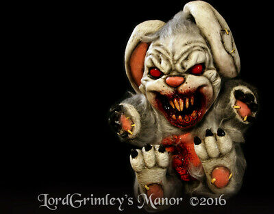 Bad Bunny Plush Undead Evil Halloween Prop Monster Decorations Horror Easter](Bad Bunny Halloween)
