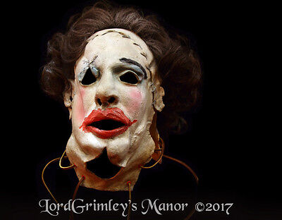NEW 2017 Licensed Texas Chainsaw Massacre Pretty Woman Mask Horror Leatherface