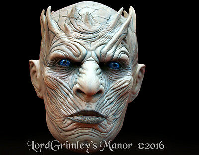 Official Licensed Game Of Thrones Night King Undead White Walker Halloween Mask (Halloween Kings Game)