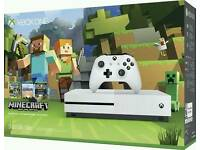 Xbox One S 500GB Minecraft - Brand new and sealed