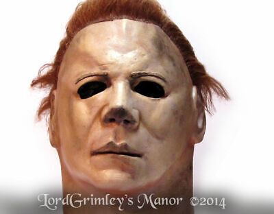 Halloween Horror Movies Series (Officially Licensed Michael Myers Halloween 2 Mask Horror Serial Killer Movie)