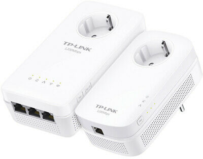 Tp Link TL-WPA8630P Conjunto De - AV1200 WLAN Powerline 3 Ethernet Puertos