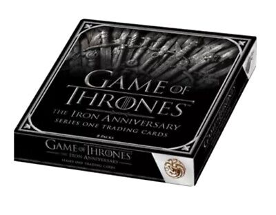2021 Game Of Thrones The Iron Anniversary Series 1 Factory Sealed 10 Box Case