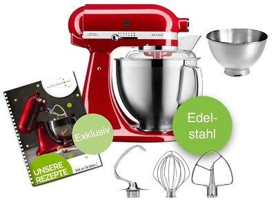 KitchenAid Artisan 185 Küchenmaschine 5KSM185PS Candy Apple Liebespafel Rot