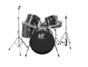 West bury child/youth 5 piece drum set