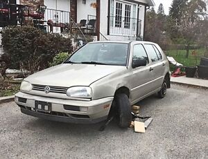 1996 VW Golf for parts