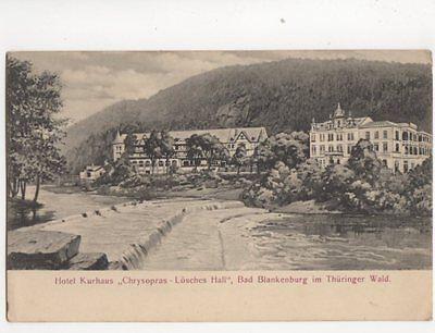 Hotel Kurhaus Chrysopras Loesches Hall Bad Blankenburg Germany Postcard 151b