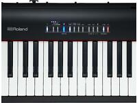 Roland FP 30 black digital piano with stand and foot pedal