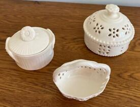 Royal Creamware 'Occasions' Fine China Gift Items x 3