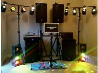Full PA for band/disco/karaoke