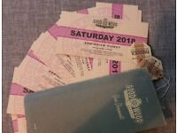 16 * GOODWOOD REVIVAL SATURDAY TICKETS 8 SEP 2018 DELIVERY WORLDWIDE + BONUS CAR STICKER