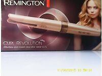 NEW IN BOX remington curl revolution