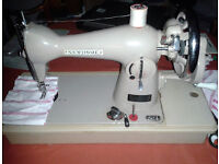 New Home Sewing Machine, 131. Sews Beautifully Manufactured by Janome Sewing Machine Co., the best