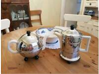 Vintage Art Deco Teapot and Coffeepot
