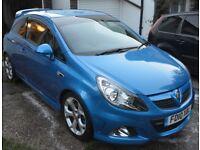 Vauxhall Corsa VXR Arden Blue for sale