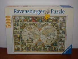 Historical Map Of The World Jigsaw Puzzle by Ravensburger 5000 pieces
