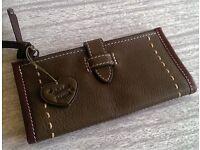 Green Leather Purse/wallet - Blondie Mania