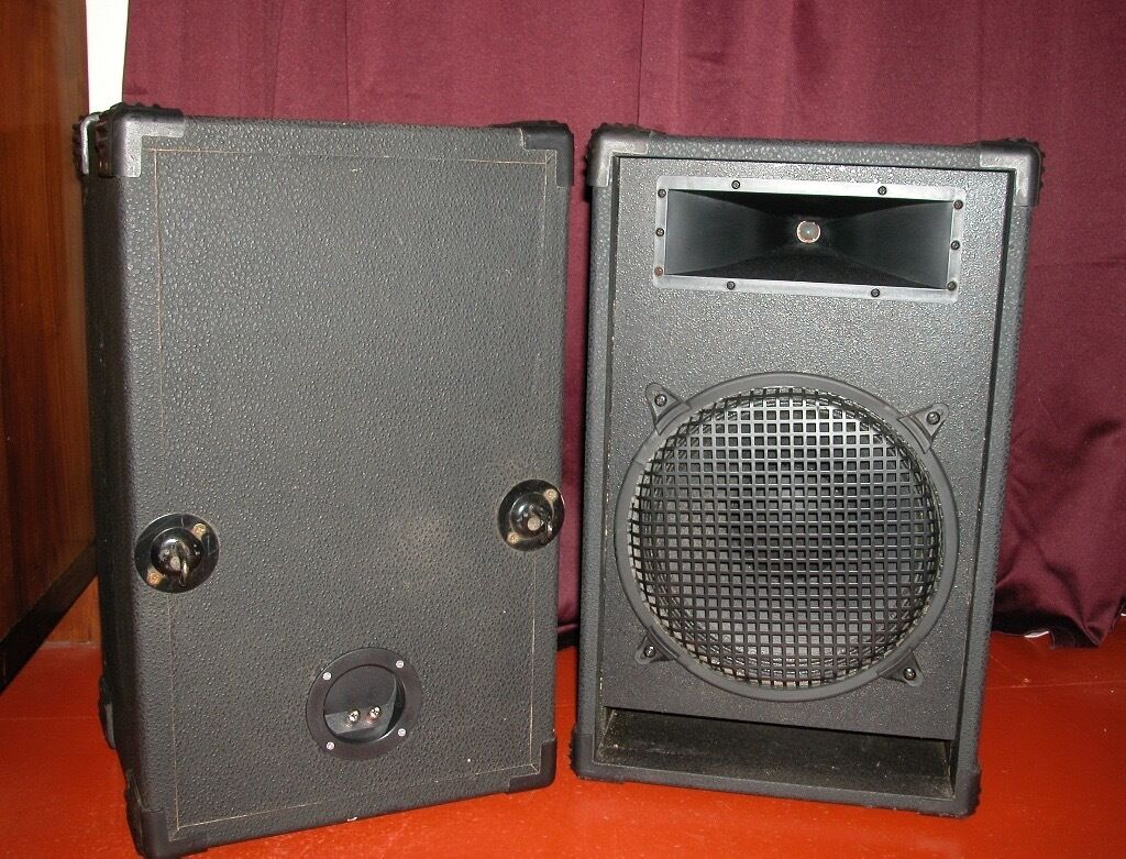 Pa Or Dj Speaker Cabinets With Eminence Delta Speakers