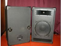 PA Speaker Cabinets (with Eminence Delta speakers)