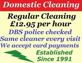 DOMESTIC CLEANING / HOUSE CLEANING / CLEANER SERVICES / CLEANER