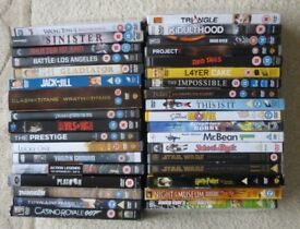DVD's - Harry Potter, Hobbit, Star Wars, Platoon, Gladiator, Michael Jackson +
