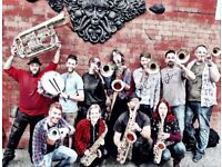 Trumpet player(s) wanted for New Orleans style brass covers band