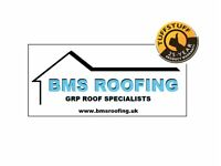BMS ROOFING - GRP Roof Specialists Flat Roofs Door/Window Canopies Roof Repairs Watford Bushey