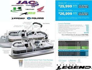 2016 legend boats Enjoy Flexibility Mercury 25 EL **Premium pack